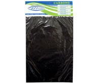 PAPEL CARBONO DUPLA FACE (A4 - P/ ESCRITA MANUAL) ROXO CAIXA COM 100 UNID.