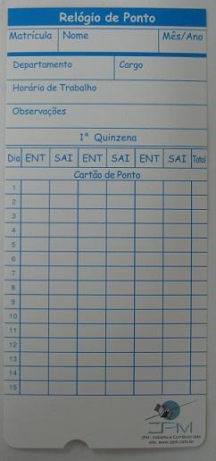 Cartão de Ponto Cartográfico para Zpm/Urano Rc1000 Pacote com 100 Unid