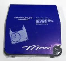 Fita Polietileno Corrigível Maq Escrever IBM Eletrônica 761 6746 Menno Gráfica Mi 03