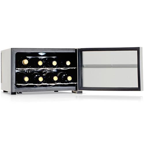 Adega Climatizada Digital para Garrafas de Vinho Tocave T8D Digital Prata 110v(Semi-Nova)