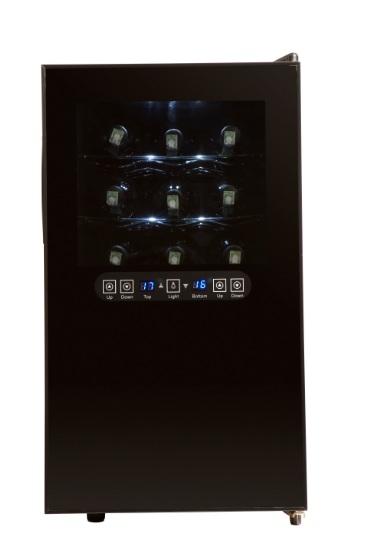 Adega Climatizada Digital 18 Garrafas Tocave M18 110v 2Temp Diferentes para Tinto e Branco
