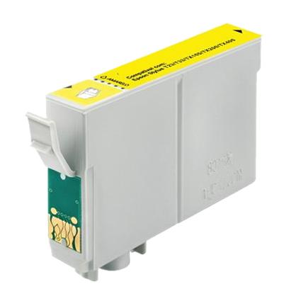 Cartucho Compatível Menno To824 Yellow para Epson Stylus Photo R270/R290/Rx590