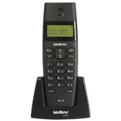 Telefone sem Fio Intelbras Ts40Id com Identificador de Chamadas