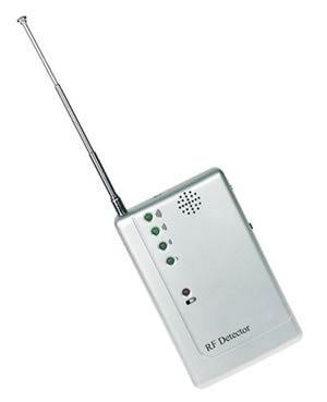 Detector de Sinal de Câmeras Wireless Profissional Worldcam