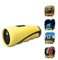 Lanterna de Mergulho com Câmera Embutida Worldcam