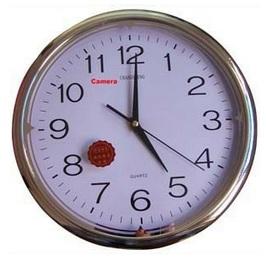 Relógio de Parede Espião Worldcam