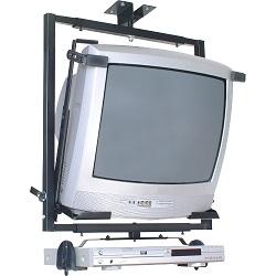 (FORA DE LINHA)Suporte Teto TV/DVD 14´ é 21´ - SBR2.1 Preto - Brasforma