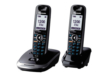 Telefone sem Fio Dect 6.0 Kx-Tg7512Lbb Panasonic