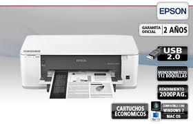 Impressora Epson K101 Bulk 200 Ml Frente e Verso Automatico Monocromatico 110v