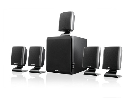 Home Theater Multilaser Box Sp088 2.1/5.1 60W Rms