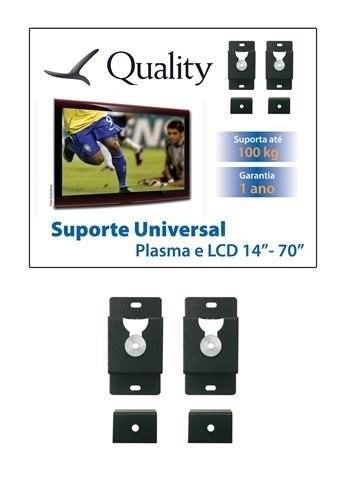 Suporte Tv Quality Qs01 Universal de Parede Fixo 10 ate 71 Polegadas