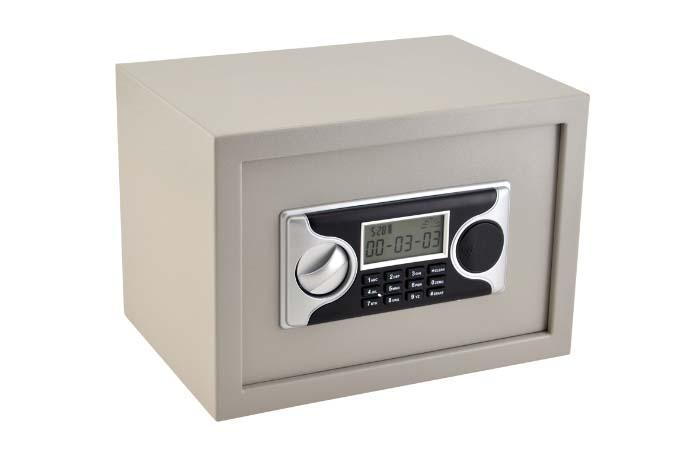 Cofre Eletronico Menno LA25 Auditoria dimensoes externas mm:A250 C350 L250 INTERNAS: A240 C340 L180, audita as ultimas 1