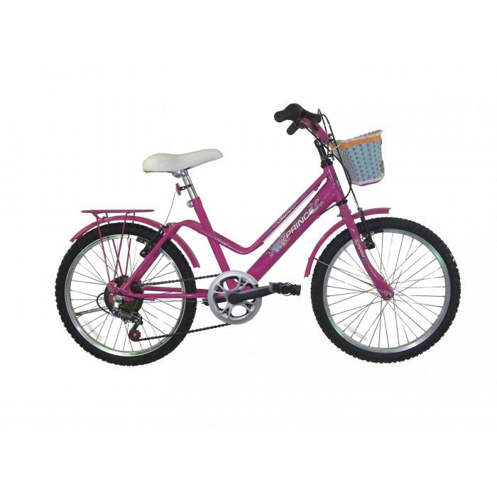 Bicicleta Prince Garden 20 Fem. Rosa