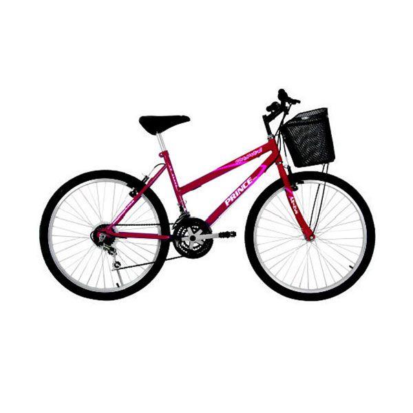 Bicicleta Prince Fashion fem. c/cesto