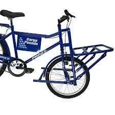 Bicicleta Prince Carga Pesada Cargueira Cor Azul