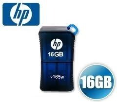 (FORA DE LINHA) Pen drive HP - USB Flash Drive/CLE USB v165w - 16GB
