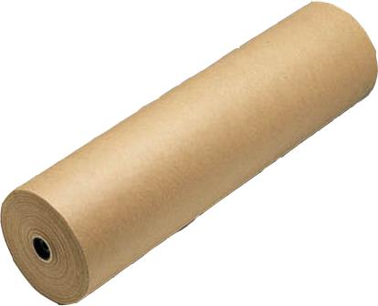 Bobina de Papel Kraft Puro 1,2m x 200m x 80 gramas aproxim.19,2Kg
