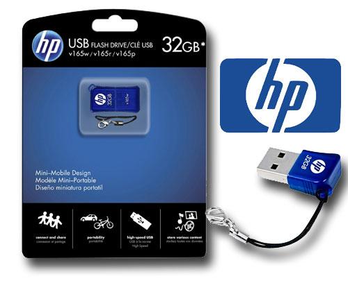 Pen Drive Hp Usb Flash Drive/Cle Usb V165W 32gb