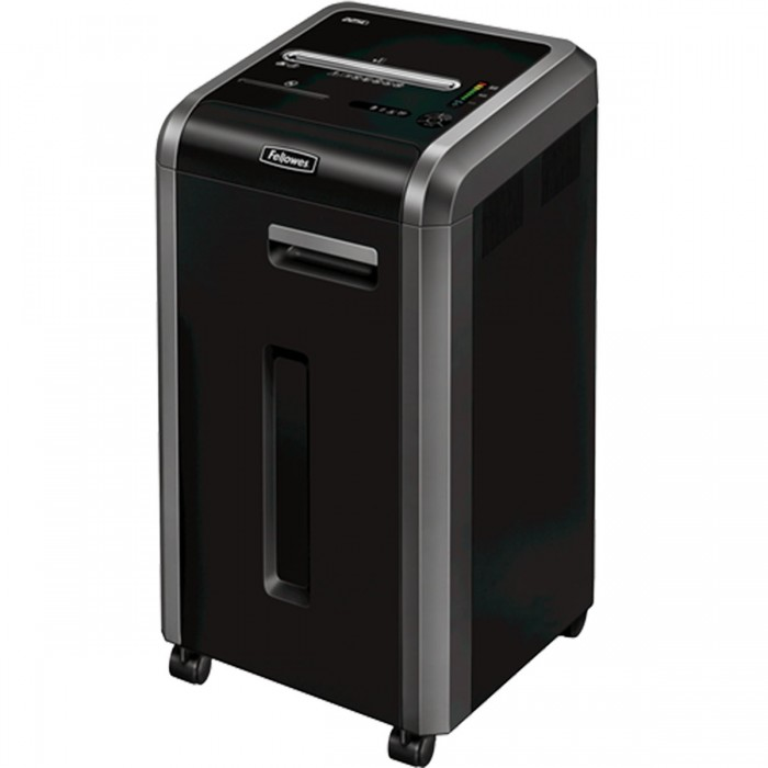 Fragmentadora Fellowes 225Ci 110v Uso Contínuo 20 Folhas Partíc.4x38mm Clipes Cd 60L