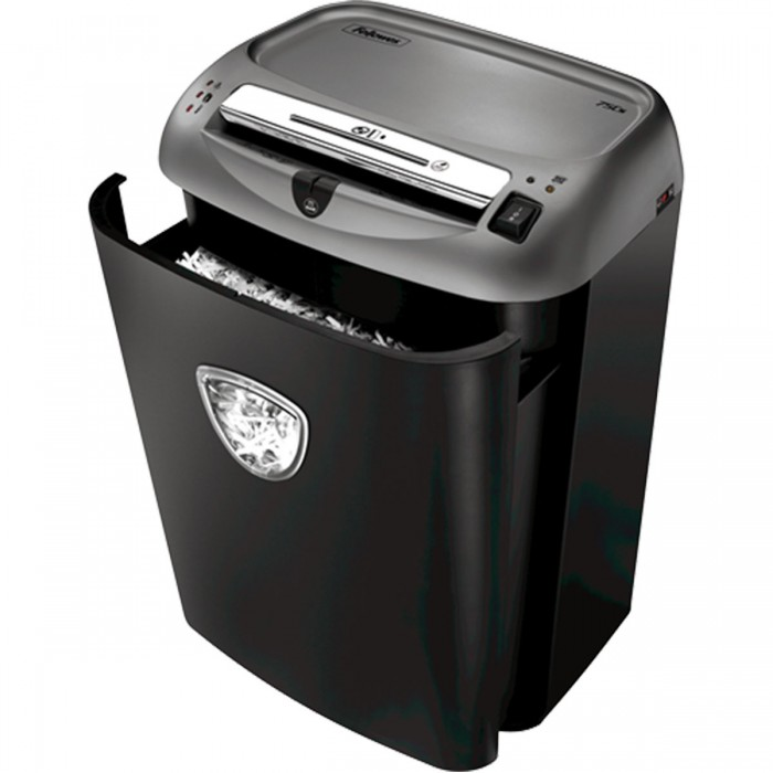 Fragmentadora Fellowes 75Cs 110v até 12 Folhas e Cd Partic 3.9x38mm 27L
