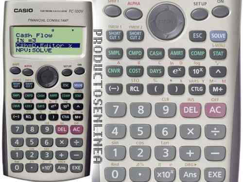 Calculadora Financeira Casio Fc-100V Garantia de 4 Anos