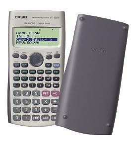 Calculadora Financeira Casio Fc-100V com Garantia de 4 Anos