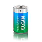 Pilha Elgin Alcalina C Blister com 2 Unid Cod. 82156