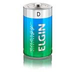 Pilha Elgin Alcalina D - Blister c/ 2 unidades cod. 82157