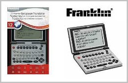Tradutor Eletrônico Franklin Fr-Tvh12 12 Línguas Hora Mundial