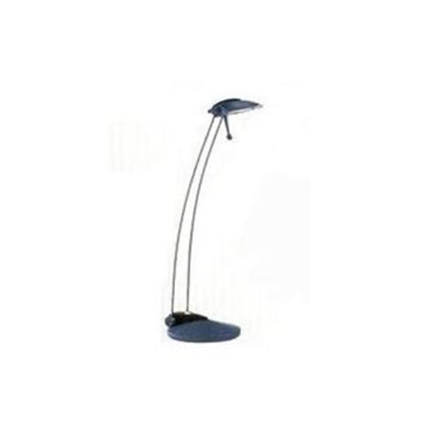 Luminária de mesa Yellowstar YS-6202 Azul, 127V, braço c/regulagem direção, lâmpada de 20W inclusa