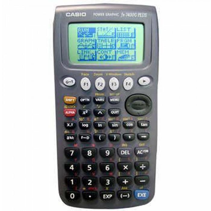 Calculadora Casio Gráfica Fx-7400G Plus 406 Funções Comunicação com Pc
