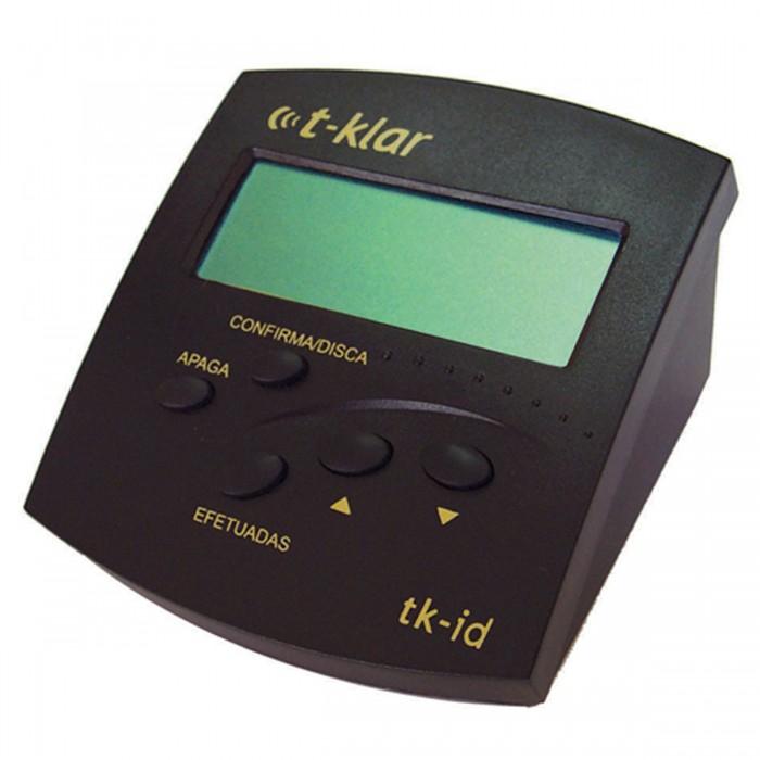 Idenficador de Chamadas Bina T-Klar Tk-Id Preto