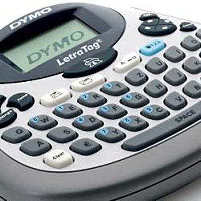 Rotulador Eletrônico Dymo Letratag Plus Lt 100T-Cinza