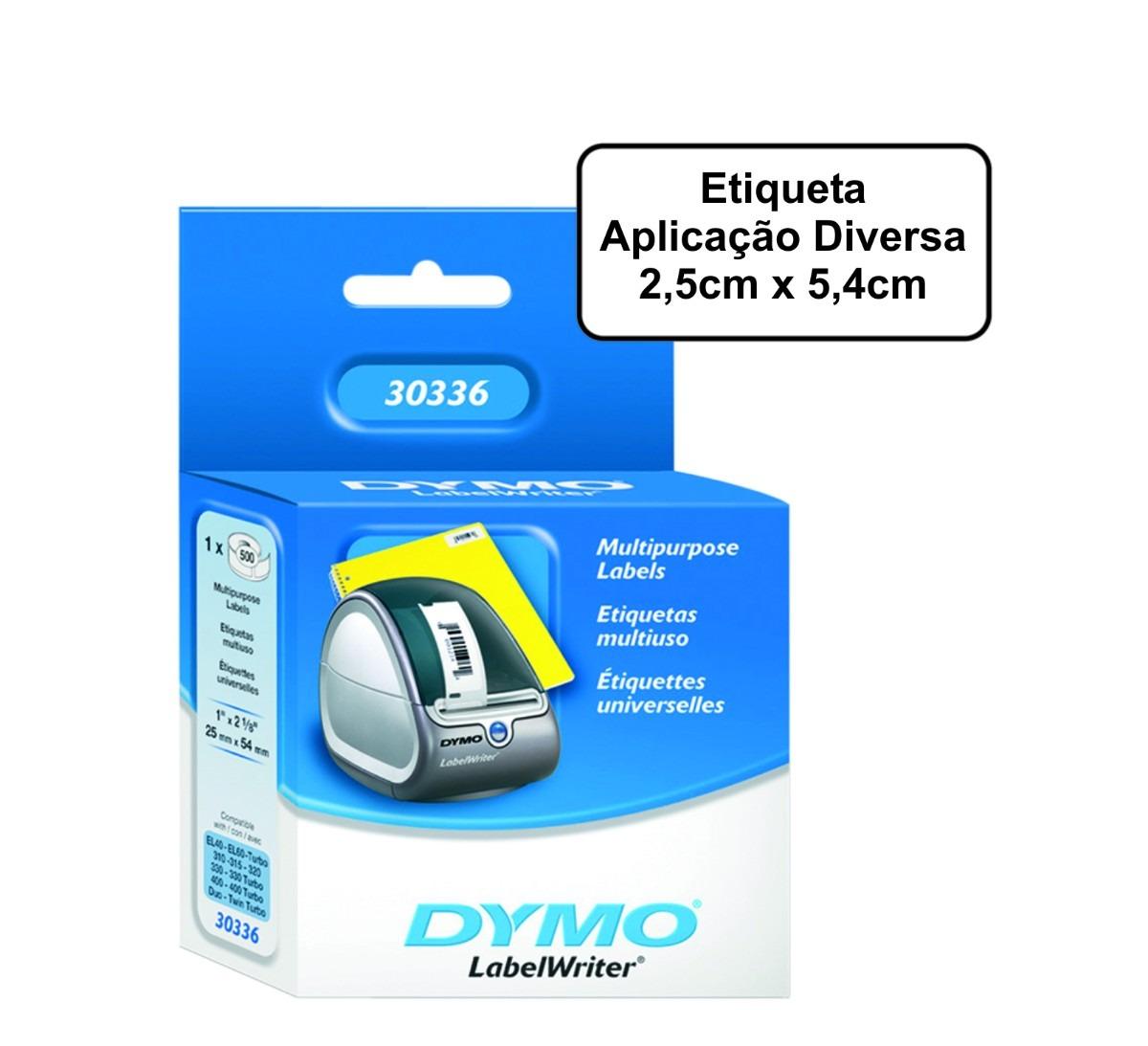 Módulo p/ Dymo Label Writer 450 Expedição 5,4cm cm (2 1/8´x 4´) 1 rolo com 220 etiquetas