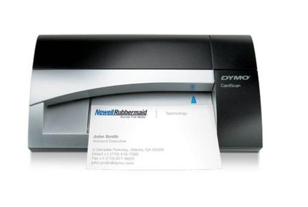 Scanner de cartão de visitas Dymo CardScan Dymo Executive versão 9 digitalização colorida