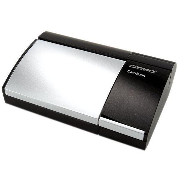 Scanner de cartão de visitas Dymo CardScan Personal versão 9 digitalização monocromática
