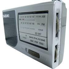 Radio Suzuki Sz-557 Acompanha Fone de Ouvido e Carregador de Pilhas