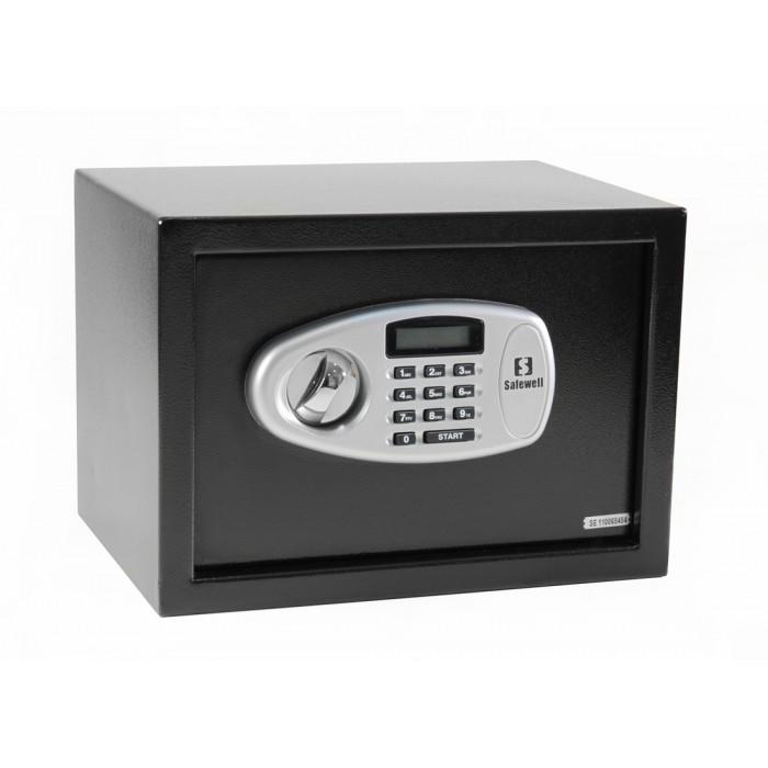 Cofre Eletrônico Tela Led Safewell 25mb Capacidade 16L Senha 3 a 8 Dígitos
