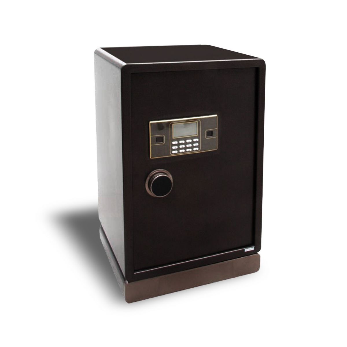 (FORA DE LINHA) Cofre Antirroubo Safewell 73 BDA Medidas Externas (AxCxP): 815x450x400mm, Capacidade: 130L, Senha: 3 a 8 dígitos