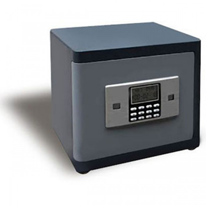 (FORA DE LINHA) Cofre Antirroubo Safewell N31 ADB - Medidas Externas (AxCxP): 300x370x300mm, Capacidade: 33L, Senha: 3 a 8 dígitos