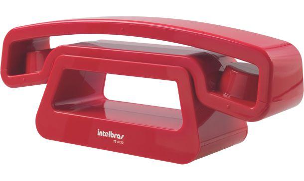 Telefone sem Fio Intelbras Ts 8120 Vermelho