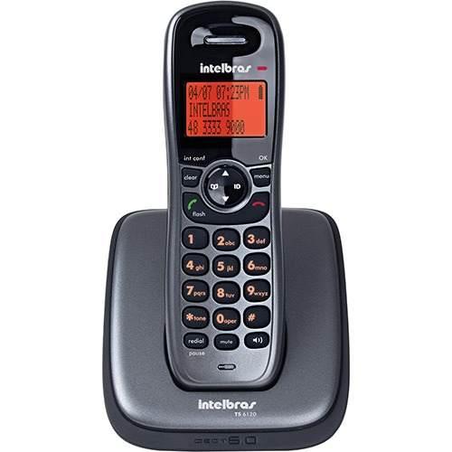 Telefone sem Fio Intelbras Ts6120