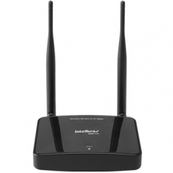 Roteador Intelbras Wireless Wrn300 Compacto N 300 mbps