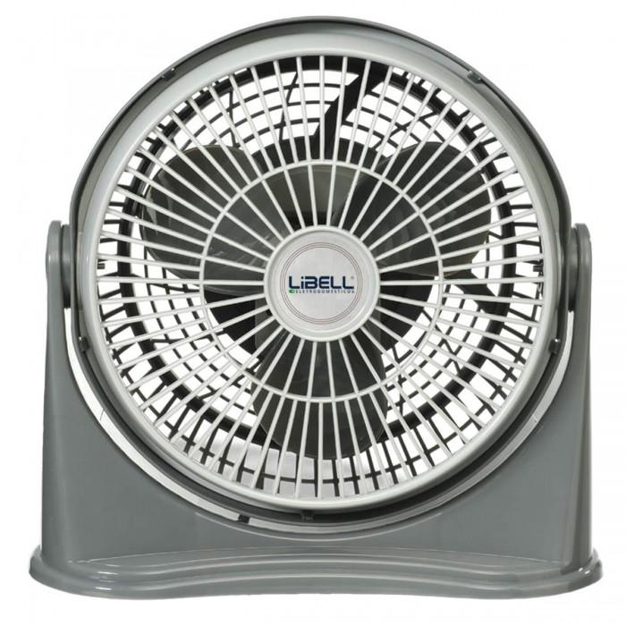 Ventilador Libell Style Cinza 20cm, 3 velocidades, 127V