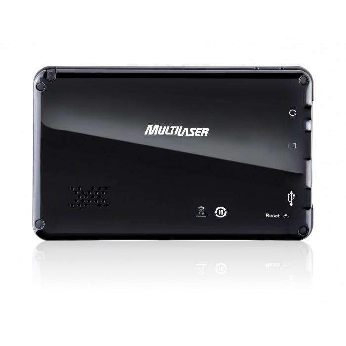 GPS Tracker 4.3 Multilaser GP011 - Tela 4.3´´, Função TTS (Fala o nome das ruas durante as manobras), alerta de radares fixos