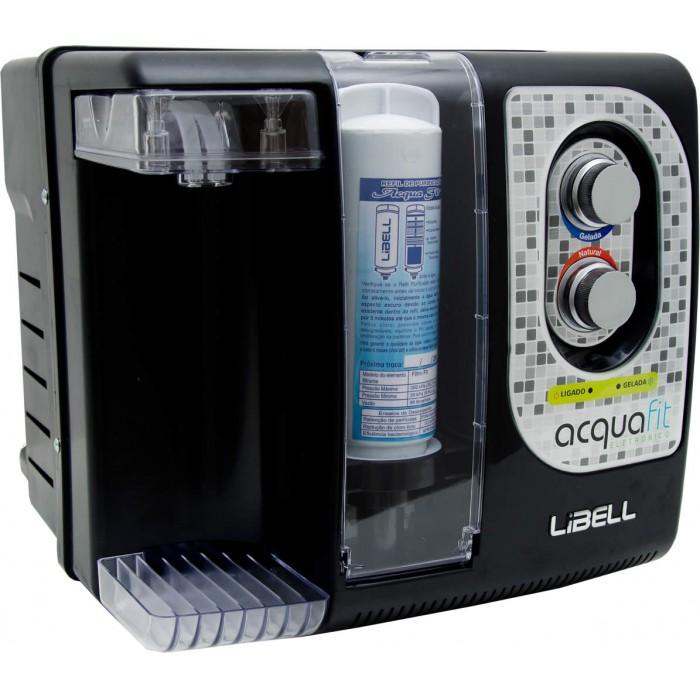 Purificador Eletrônico Libell Acqua-Fit Bivolt - Compacto, 3 etapas de filtragem
