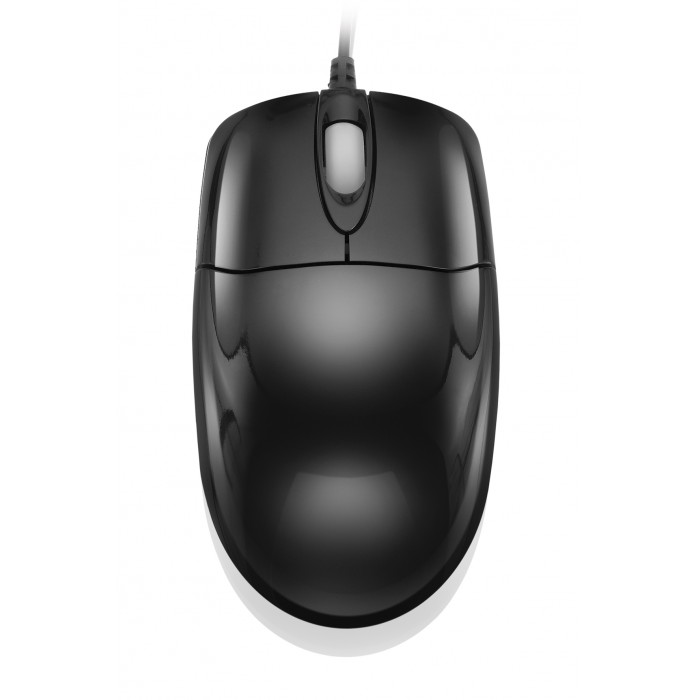 Mouse Multilaser Black Piano USB MO137