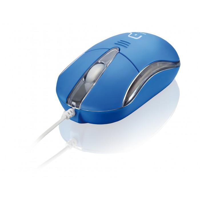 Mouse Multilaser Classic II Azul MO171