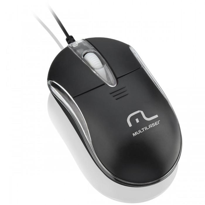 Mouse Multilaser Óptico Classic 2 MO169
