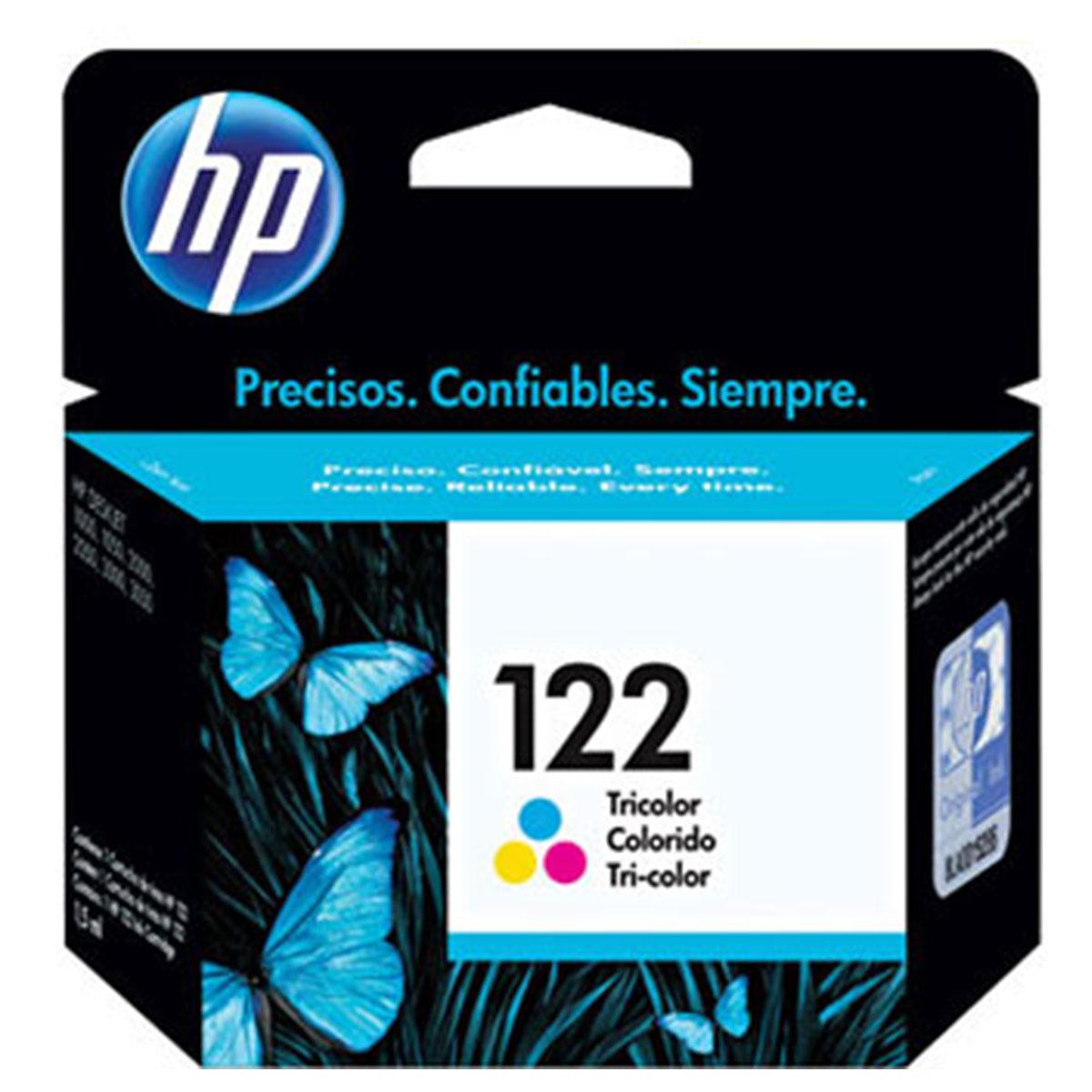 Cartucho de Tinta Hp 122 Colorido Original Ch562Hl
